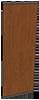 houten paneel automatische schuifdeur