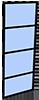 industriële paneel automatische schuifdeur